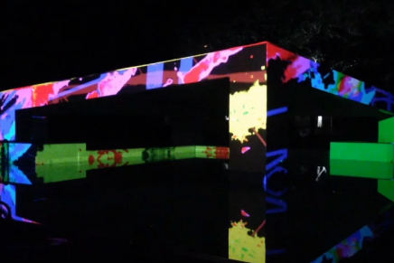 Video Mapping Parque Aquático Sesc Presidente Prudente