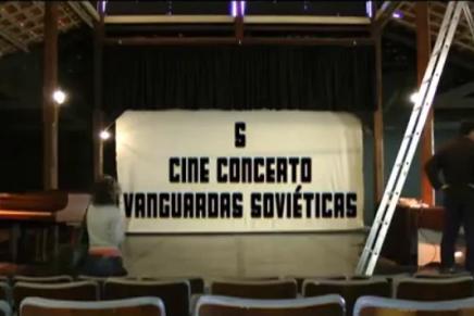 S – Cine Concerto Vanguardas Soviéticas